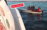 Zor durumdaki kaçak göçmenler kurtarıldı