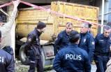 Bayraklı'da kamyon faciası: 2 ölü