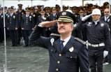 İzmir'de, Türk Polis Teşkilatı'nın 174'üncü kuruluş yılı kutlaması