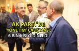 AK Parti'de 'yönetim' çalışması: 6 bin kişiyi dinledi