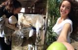 Azra Akın'ın çiftlik hayatı