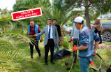 Başkan Kırgöz'den personele çat kapı ziyaret