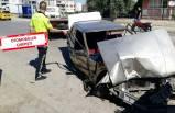 İzmir'de korkutan kaza