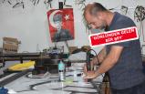 İzmirli tabelacıdan ücretsiz Atatürk imzası