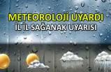 Meteoroloji'den Türkiye'nin tamamı için sağanak uyarısı