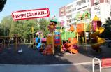 Bayraklı'nın parklarında temizlik ve bakım seferberliği