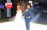 İlginç düğün dansları olay oldu!