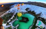 Yamaç paraşütünde yeni rota Pamukkale