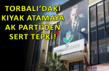 AK Parti İzmir, o başkanı topa tuttu!