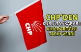 CHP'den kurultay kararı