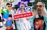 Dünya starları da 'Onur Yürüyüşü'ne katıldı