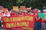 Emekli-Sen, zam oranını protesto etti