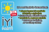 İYİ Parti İzmir'den çarpıcı açıklamalar
