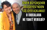 İzmir Büyükşehir Belediyesi'nden Soyer açıklaması