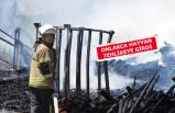 İzmir'de korkutan yangın! alevler kısa sürede büyüdü