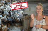 Mermer ihraç eden kadın girişimci, salyangoz çiftliği kurdu