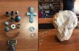 Müzede kayıt altına alınmayan tarihi eserler bulundu