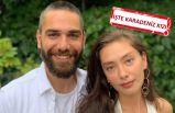 Neslihan Atagül ve Kadir Doğulu çifti Giresun'da tatilde