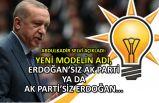 Selvi açıkladı: Yeni modelin adı, Erdoğan'sız AK Parti ya da AK Parti'siz Erdoğan...
