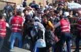 Suriyelilerin bayram izdihamı! Akın ettiler