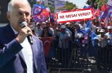 Yıldırım'a İzmir'de coşkulu karşılama