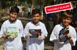 AK Gençlikten çevre temizliği