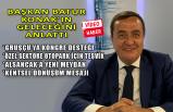 Başkan Abdül Batur, Konak'ta yapacaklarını Ben TV'de anlattı