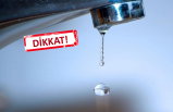 İzmir'de 28 saatlik su kesintisi!
