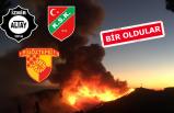 İzmir kulüpleri yangın molası verdi! Büyük seferberlik