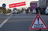İzmir Manisa yolunda kaza! AK Parti milletvekilleri yaralandı