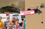 İzmir yanıyor: Korkutan görüntü!