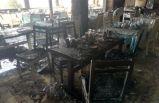 Parasını alamayınca çalıştığı restoranı benzin döküp yaktı