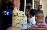 Zabıtadan Arapça tabela operasyonu