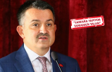 Bakan Pakdemirli'den CHP'li Özel'e üzüm yanıtı