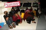 Çeşme ve Dikili açıklarında 135 kaçak göçmen yakalandı
