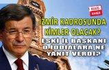 Davutoğlu'nun İzmir bilmecesi...