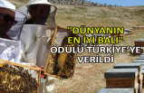 """""""Dünyanın En İyi Balı"""" ödülü Türkiye'ye verildi"""