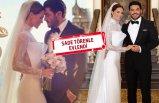 Ebru Şallı ile Uğur Akkuş evlendi!