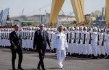 Erdoğan TCG Kınalıada'nın hizmete giriş töreninde konuştu