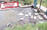 Foça ve Menemen'deki sulama kanalında kirlilik