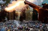 Hong Kong'da zafer protestocuların!