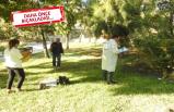 İzmir'de parkta oturan kişiye silahlı saldırı
