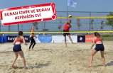 İzmir'de plaj voleybolu şöleni başlıyor