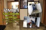 İzmir'i sağanak vurdu