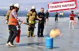 İzmir İtfaiyesi'nden başarılı yangın tatbikatı