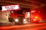 Şehir hastanesinde inşaatında korkutan yangın