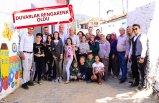 Yenikurudere Köyünün Duvarlarına Nuran Erden İmzası
