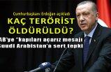 Cumhurbaşkanı Erdoğan sayıları açıkladı