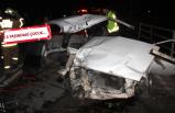 Eğlence dönüşü korkunç kaza: 2 ölü