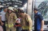 İstanbul Haramidere'de metrobüs kazası: 8 yaralı